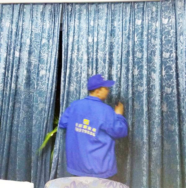 清洗窗帘价格