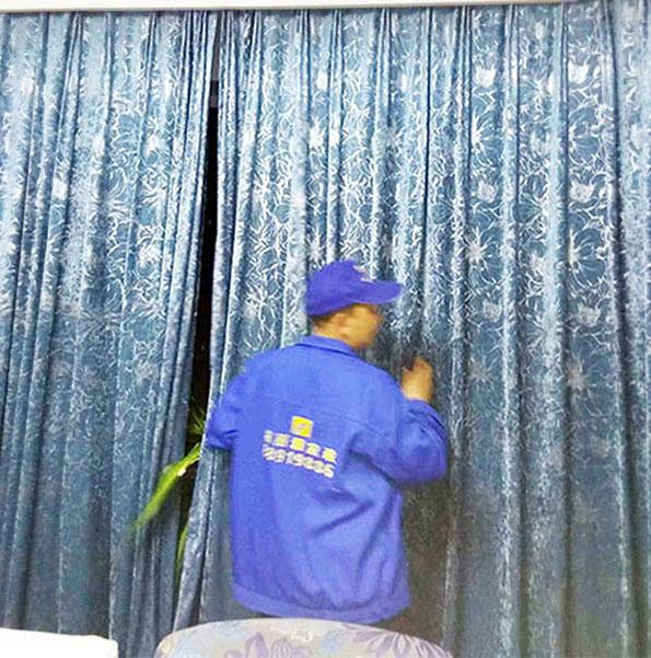 窗帘怎样清洗才能干净